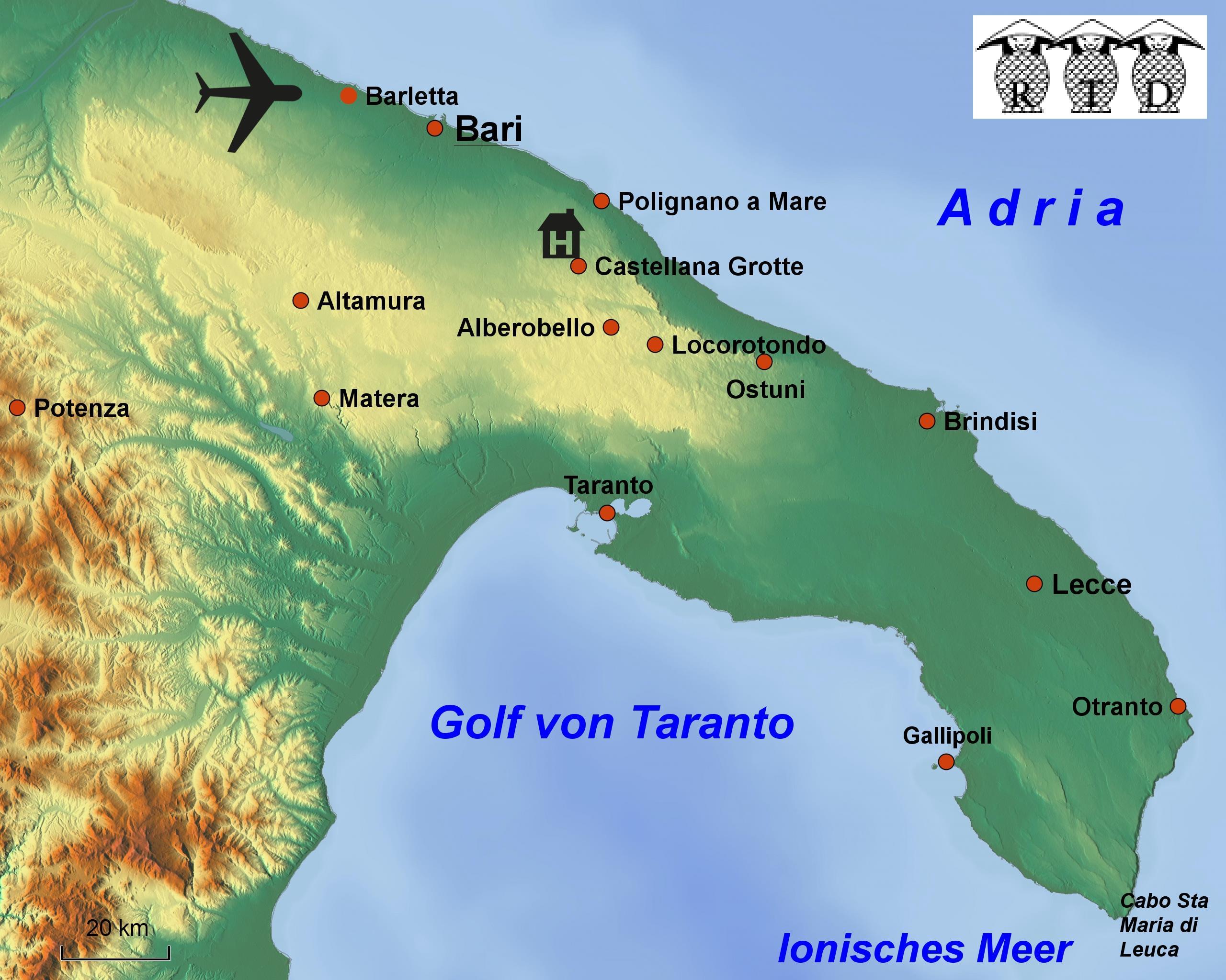 Rtd Reisen Reiseziele Aktuelles Apulien Italien